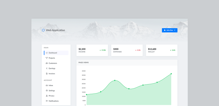 Featured Image of Web App Dashboard