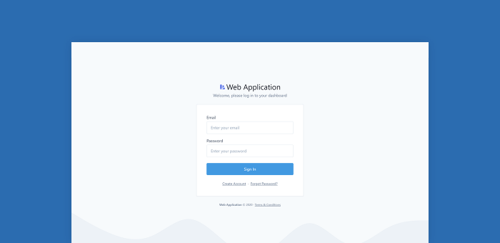 Featured Image of Auth Pages Tailwind