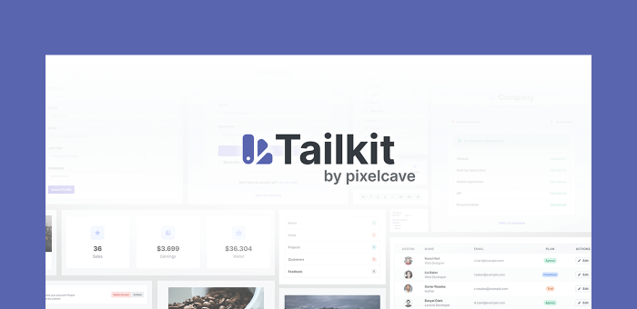 Featured Image of Tailkit